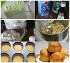 cheesecake muffins recipe truvia