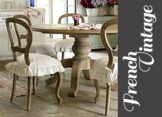 Romantic French Vintage Decor - 55DowningStreet Blog - Designer Decor - Furnishings