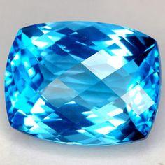 Blue Topaz #Gemstones #Topaz