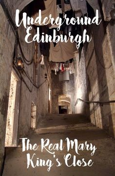 Head underground in Edinburgh's Old Town to discover the lost 17th century streets of the Real Mary King's Close, buried beneath the Royal Mile – ontheluce.com