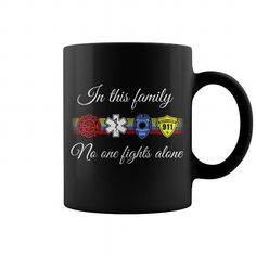 NO ONE FIGHTS ALONE MUG => Check out this shirt or mug by clicking the image, have fun :) Please tag, repin & share with your friends who would love it. #Dispatchermug, #Dispatcherquotes #Dispatcher #hoodie #ideas #image #photo #shirt #tshirt #sweatshirt #tee #gift #perfectgift