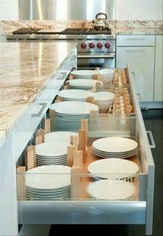 Organizador de platos