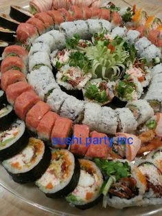 Sushi party catering