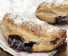 Blueberry-Vanilla Cream Cheese Pies