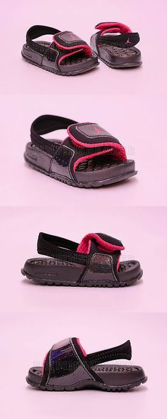 e788176e6a87b8 Baby Shoes 147285  Infant Toddler Jordan Hydro 2 Sandal Black Pink 487574  009 -