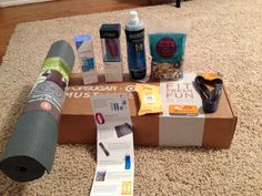 Popsugar Must Have Fresh Fit Fun 2015 box - a collaboration with Target! Awesome products!