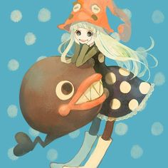 Tags: Anime, SOUL EATER, Witch, Spotted, Witch Hat, Pechika, Eruka Frog