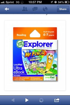 Enter to #WIN this #LeapFrog Dr. Pencil game cartridge over at #LifeSongsOfABusyMom blog