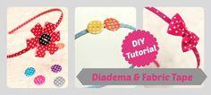 Diy-Tutorial - Diademas con Fabric Tape