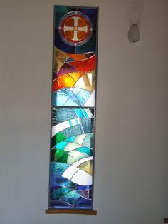 Kecskemét, Széchenyiváros temploma, tervezte s festette: Balanyi Károly