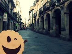 Rúa do Vilar, Santiago de Compostela @LaGalletaMolona Celestial, Outdoor, Santiago De Compostela, Pilgrim, Towers, Museums, Cities, Outdoors, Outdoor Games