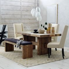 Emmerson Dining Table | west elm - Eat In Kitchen