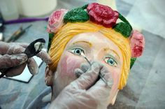 The beauty on the ship: figureheads on show at Cutty Sark