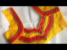 Hello Viewers Welcome To MMS DESIGNER. This video will show you how to create a beautiful and simple way MMS Latest Blouse Back Neck designs Easy Cutting and. Cutwork Blouse Designs, Patch Work Blouse Designs, Simple Blouse Designs, Blouse Back Neck Designs, Neckline Designs, Stylish Blouse Design, Sleeves Designs For Dresses, Designer Blouse Patterns, Stitching
