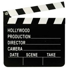 Hollywood Movie Oscar Decor Prop Wooden DIRECTOR'S CLAPBOARD ~ NEW. You will receive 1 clapboard. Wooden clapboard is approx x You can use chalk to write on clapboard (chalk NOT included). Hollywood Party, Hollywood Night, Hollywood Stars, Oscar Party, Movie Themes, Party Themes, Party Ideas, Parties Decorations, Decoration Party