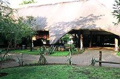 Shingwedzi Rest Camp in Kruger National Park.  We ate breakfast under this thatched roof with Dave & Lisa.