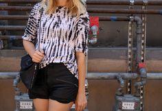 Blake shorts, Proenza Schouler top, Lomme bag