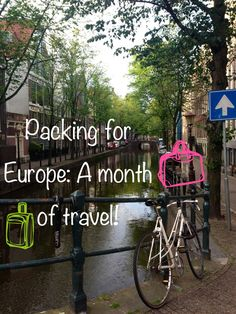 I only traveled through Europe for about a month, but I think these tips can help anyone backpacking across Europe for any given time. Because, realistically you want the least amount of clothes to...