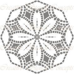 Traditional Mandala  Decorative Stencil by CreativeStencils, $12.95