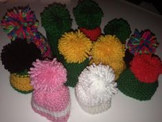 """@jephsoninvolveM """"My little hats so far for @ageuk #bigknit Do you have any photos of yours to share with me?"""""""