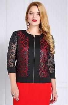 Пиджаки и женские жакеты больших размеров: продажа в интернет магазине «L'Marka»