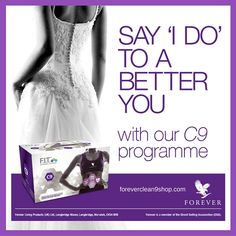 """You have an important date coming up and want to be the best you can be? Well, before saying """"I do!"""" at your wedding, think about saying """"I do"""" to a better you with Clean 9 Diet! C9 really can help you shed unwanted weight and look and feel GREAT on your big day. You'd like more info? Find loads here: https://www.facebook.com/clean9diet/ #clean9diet #aloeveradiet"""