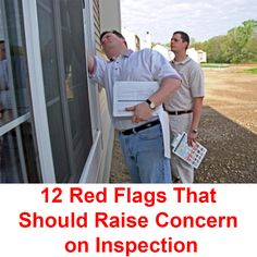 2 Red Flags That Should Raise Concern on Inspection    http://www.localrecordsoffices.net/home-inspection-importance-before-buying-local-records-office/