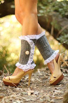 Victorian Fashion Leg Warmers