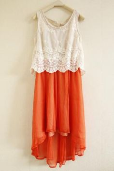 """Keep • """"Womens Bead Lace Vest Dress"""" kept into Womens Tees by fashionthebox ($40.00)"""