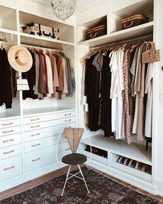 Closet Bedroom, Home Bedroom, Bedroom Decor, Bedrooms, Closet Space, Ikea Closet, Dream Closets, Small Closets, Closet Designs