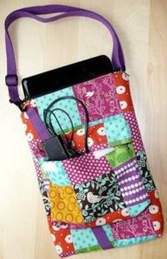 Laptop Bag Pattern Download by Sewing Sue available not at connectingthreads.com for just $8.50 »