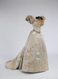 Worth ball gown, 1898From the Metropolitan Museum of Art