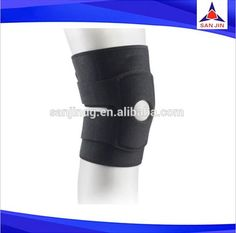 Running neoprene knee wrap adjustable injury supports compression knee braces #knee_support, #Running