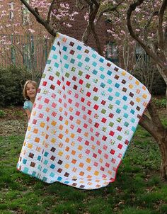 The Modern Workshop Quilt | by Liesl Gibson | by Oliver and S | uses one Modern Workshop Jelly Roll