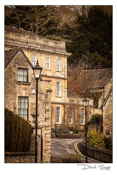 Bradford on Avon, Wiltshire, England - my cousins reception was held down the road from this building.