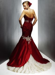 Wedding Dress: Black and Red Wedding Dresses Design | Dark Weddings ...