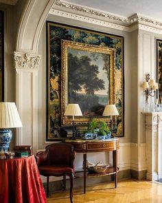 48 Luxury Country Home Decor Ideas - Home Decor Design French Decor, French Country Decorating, Traditional Decor, Traditional House, Traditional Furniture, Classic Interior, Home Interior Design, Luxury Interior, English Interior