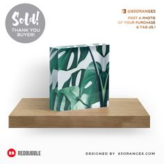 Just sold an Acrylic Block with my artwork titled 'Monstera'! Order yours or see all #redbubble products carrying this design here: http://www.redbubble.com/people/83oranges/works/24092854-monstera-redbubble-artprints?p=acrylic-block&size=4x4