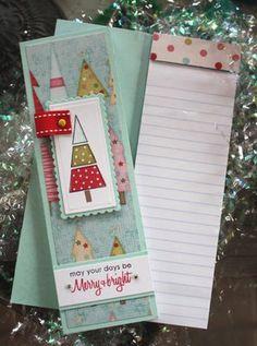 Mini Christmas Notebooks