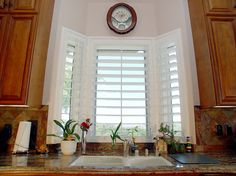 Unique Blinds For Kitchen Window Over Sink Find This Pin And More On Windows Shutters Screens Bay With Inspiration