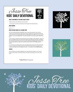 Crazy Kids Bible Devotional: Jesse Tree Day 13 | My Favorite Kind of Crazy