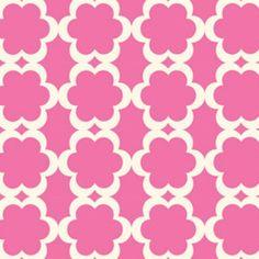 Fabric for baby girl nursery