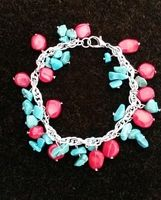 Turquoise & Coral Bracelet - This bracelet helps eradicate poverty, and transform lives!