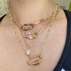 Metal Jewelry, Gold Jewelry, Jewelery, Jewelry Accessories, Cool Necklaces, Jewelry Necklaces, Beaded Necklace, Jewelry Tumblr, Silver Enamel