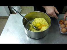 Bignè di San Giuseppe Fritti - Video Ricetta Dolce per Festa del Papà - YouTube