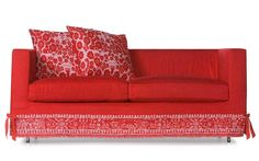 1-COMP.DY.BOUTIQ2.PM Red Sofa, Modern Lighting, Love Seat, Couch, Boutique, Furniture, Home Decor, Polyvore, Settee