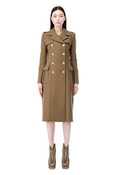 Coat with lacing motif - Elisabetta Franchi