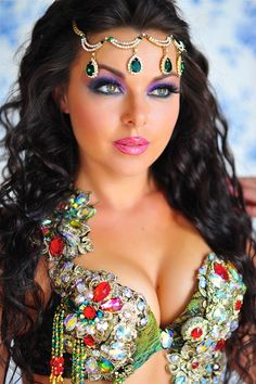 (Leila) Alla Kushnir ~ Ukrainian belly dancer, Choreographer, Festival & Performance organizer.