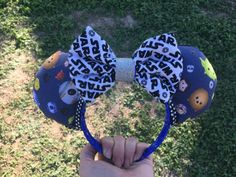 Star Wars Tsum Tsum Mickey Ears inspired by on Etsy Disney Mickey Ears, Mickey Minnie Mouse, Disneyland, Hair Bows, Star Wars, Inspired, Unique Jewelry, Handmade Gifts, Fun