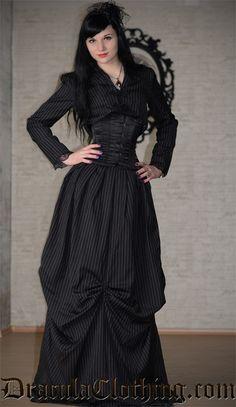 Victoriana Jacket and Skirt
